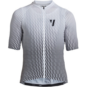 VOID Print 2.0 Maillot Manches courtes Homme, white streck